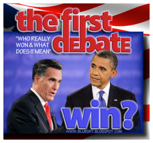 Obama vs Romney 1st Debate 300x281 President Obamas First Debate